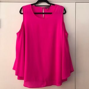 Vince Camuto Vibrant Pink Blouse
